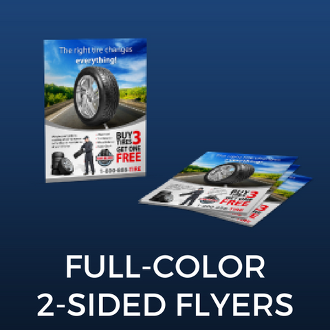 Full Color Two-Sided Flyers