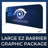 Large EZ Barrier Double-Sided Graphic Package
