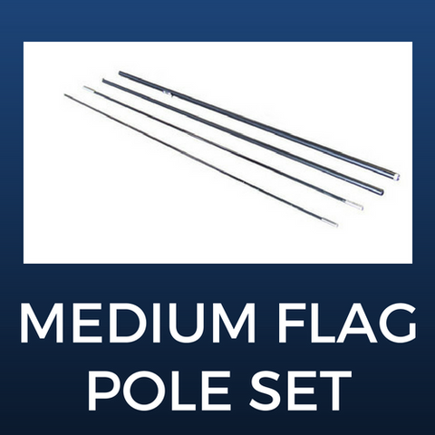 Medium Flag Pole Set
