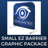 Small EZ Barrier Double-Sided Graphic Package