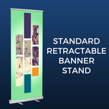 Standard Retractable Banner Stand Package