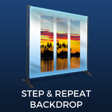 Step and Repeat Backdrop Package