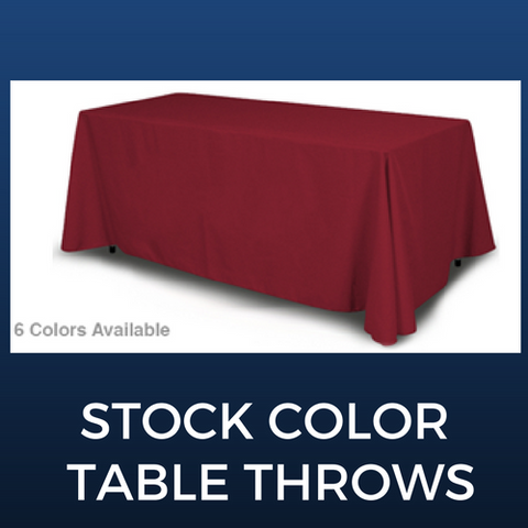 Stock Table Throws