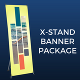 X-Stand Banner Package