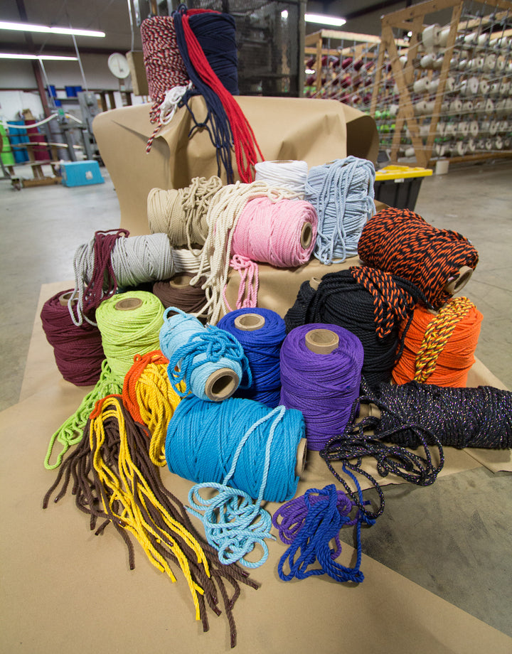 How 1/4-inch Twisted Cotton Rope is Made