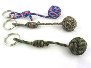 Why Adjustable Paracord Monkey Fist Keychains?