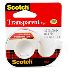 1/2-inch transparent tape
