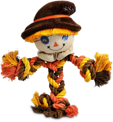 DIY Fall Decorating Ideas - Ravenox Autumn Harvest Scarecrow Twisted Cotton Rope