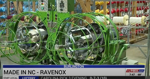 Fox8 News Features Ravenox - Rope Manufacturer on Made in North Carolina