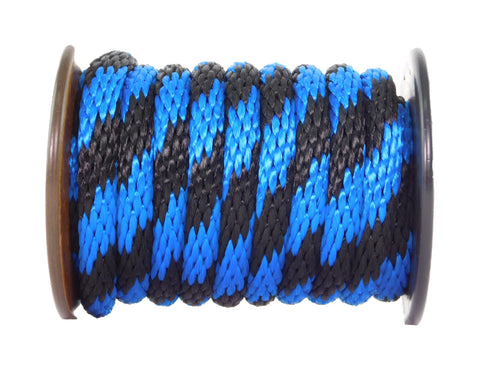Ravenox-Rope-Cord-Solid-Braid-MFP-Derby-Utility-Rope-Black-and-Royal-Blue-Thin-Blue-Line