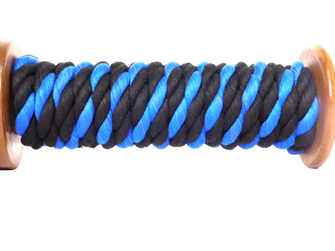 Ravenox-Twisted-Cotton-Rope-Black-Royal-Blue-Thin-Blue-Line-1-2-inch-dayameta