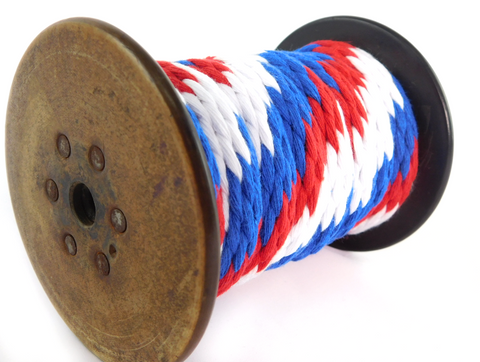 Ravenox Patriotic Braided Cotton Rope