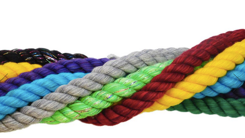 Types of Rope to Use for Outdoor Use - Natural Twisted Rope