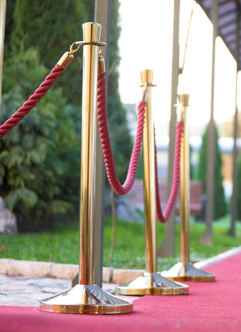 Reservation or Aisle Rope for Church or the Red Carpet