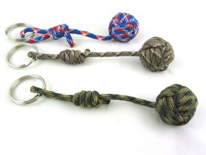 Paracord keychains