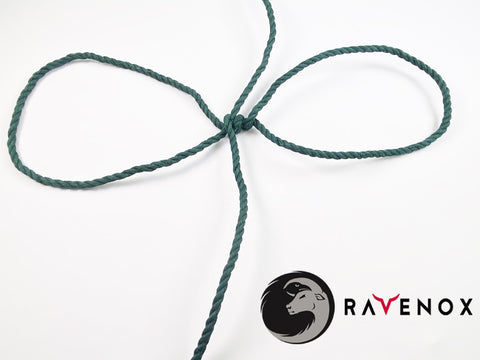 Ravenox Green Twisted Cotton Rope for Saint Patrick's Day Shamrock Wreath Home Decor