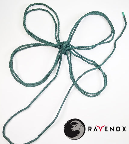 Ravenox Twisted Green Cotton Rope Shamrock Leaf for Holiday Wreath Saint Patrick's Day