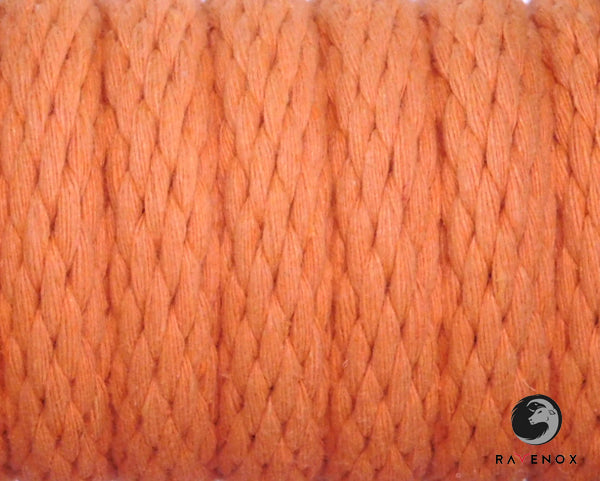 Ravenox_Orange_Solid_Braid_Cotton_Rope_for_Macrame_Weddings_Events_Pet_Lovers_Dog_Leashes
