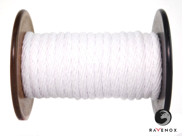 Ravenox_Snow_White_Solid_Braid_Cotton_Rope_for_Macrame_Weddings_Events_Pet_Lovers_Dog_Leashes