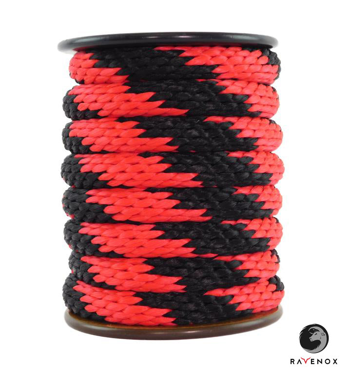 Ravenox_Thin_Red_Line_Solid_Braid_Polypropylene_Rope_for_Mooring_Lines_Protection_Systems_Emergency_Barriers_Events_Pet_Lovers_Dog_Leashes