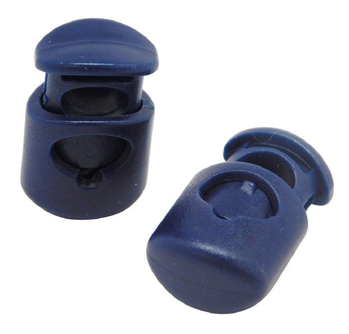 FMS Plastic Cord Locks (Navy Blue)
