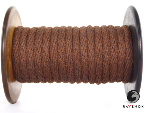 Ravenox_Chocolate_Solid_Braid_Cotton_Rope_for_Macrame_Weddings_Events_Pet_Lovers_Dog_Leashes