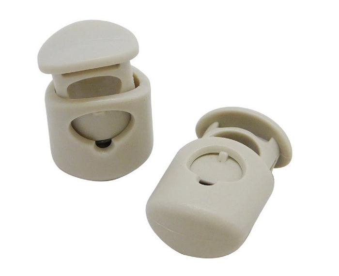 FMS Plastic Cord Locks (Bone)