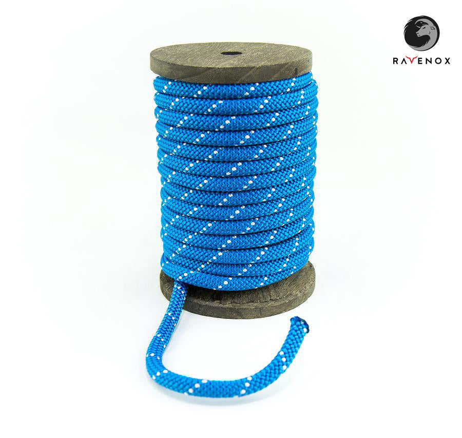 Ravenox_Blue_Nylon_Kernmantle_Composite_Accessory_Cord_for_ cordelettes_ice_threads_towlines