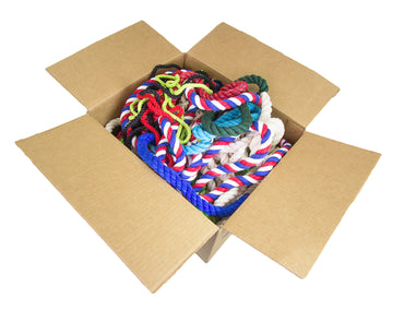 Twisted Cotton Rope and Twine (Box)(Assorted Colors and Diameters)