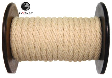 Ravenox_Tan_Solid_Braid_Cotton_Rope_for_Macrame_Weddings_Events_Pet_Lovers_Dog_Leashes