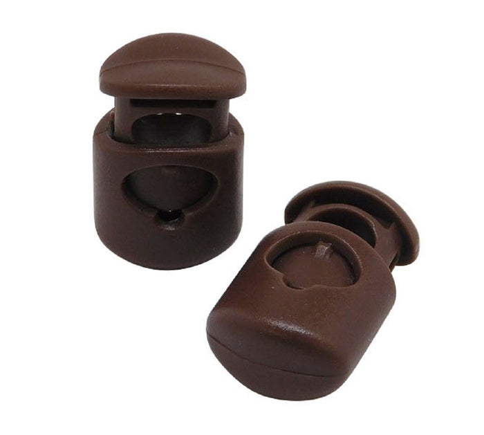 FMS Plastic Cord Locks (Brown)