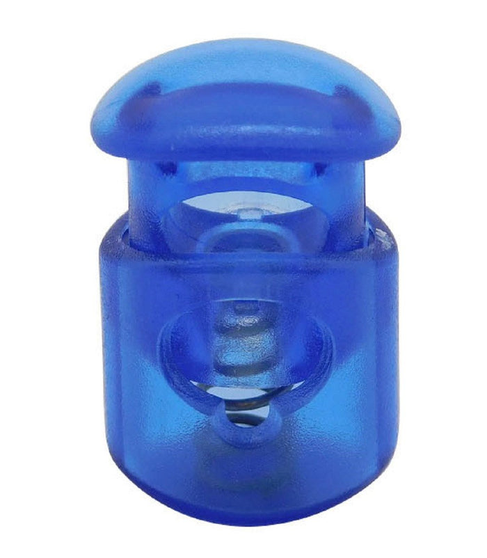 FMS Plastic Cord Locks (Transparent Blue)