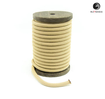 Ravenox_Tan_Nylon_Kernmantle_Composite_Accessory_Cord_for_ cordelettes_ice_threads_towlines