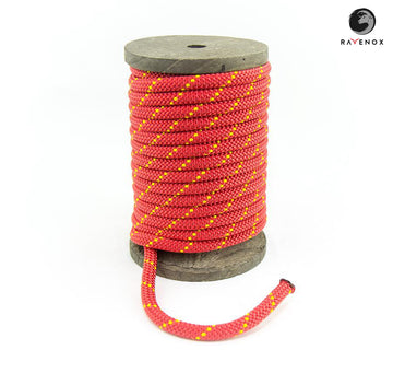Ravenox_Red_Nylon_Kernmantle_Composite_Accessory_Cord_for_ cordelettes_ice_threads_towlines