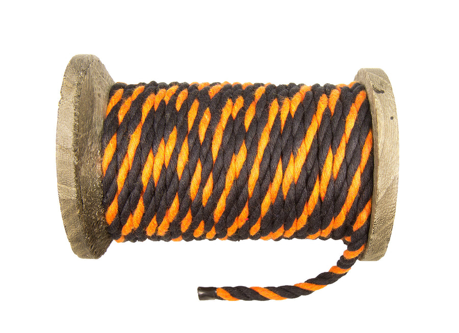 Twisted Cotton Rope (Halloween)