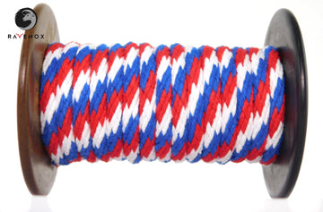Ravenox_Red_White_Blue_Solid_Braid_Cotton_Rope_for_Macrame_Weddings_Events_Pet_Lovers_Dog_Leashes