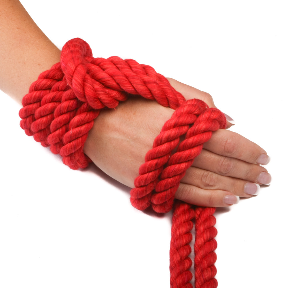 Twisted Cotton Rope (Red)