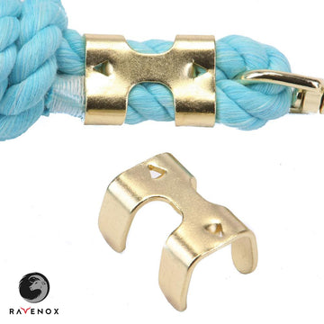Ravenox 5/8-inch heavy duty metal double rope clamp for securing rope