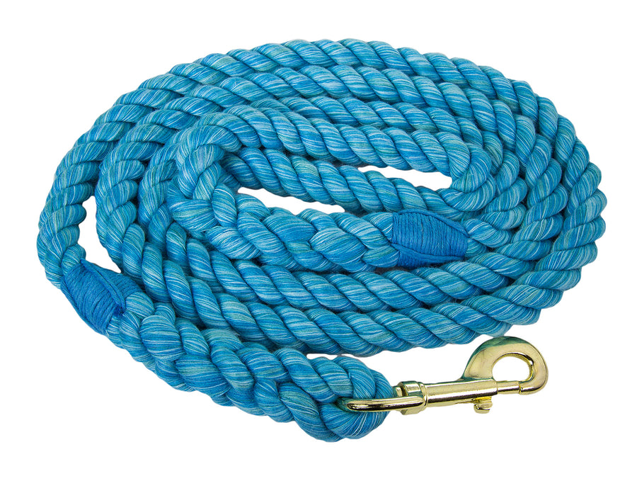 Ravenox Twisted Cotton Rope Dog Leash Walking Dogs Lead Lines Puppies Training Turquoise