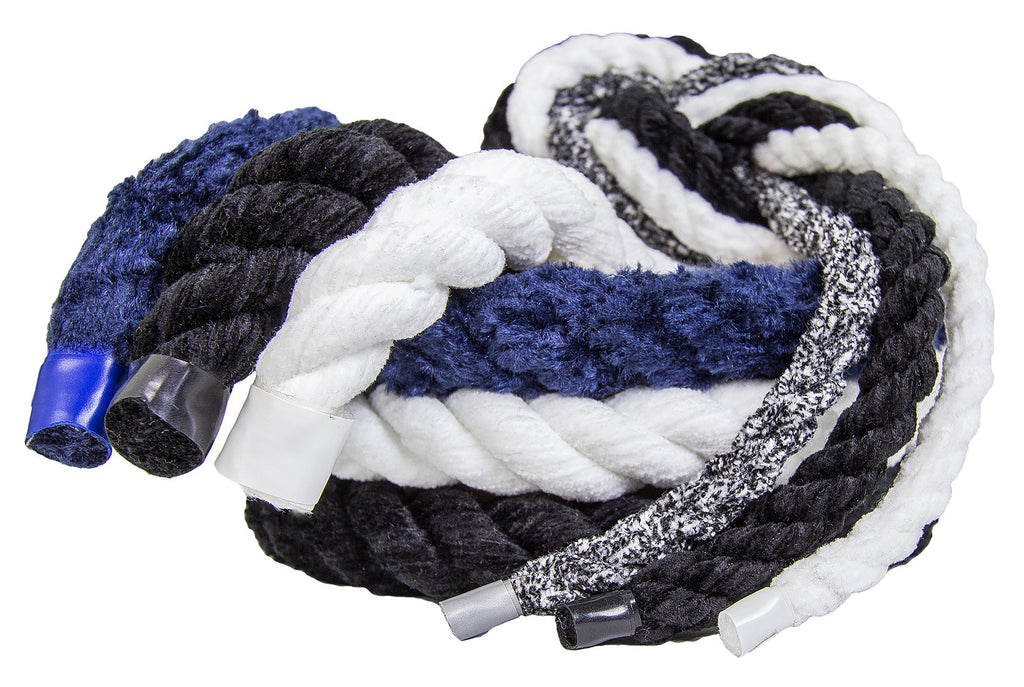 Twisted Chenille Rope (Salt & Pepper)