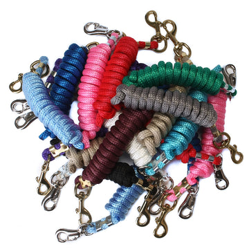 Ravenox Animal Tack Lead Lines | Colorful Poly Horse Lead Ropes | Horse Tack