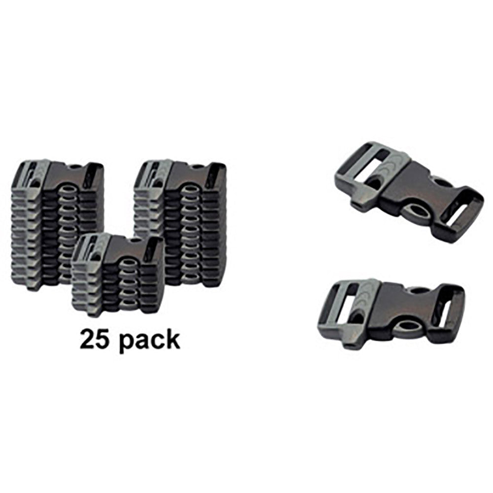 Side Release Whistle Buckles 5/8 Zoll (16mm)