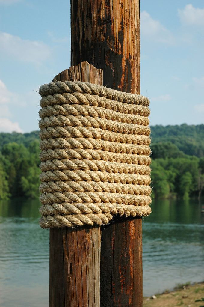 5/8-Inch Twisted Manila Rope