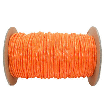 FMS Spectra 1.8mm 400 Pound Heavy Duty Spectra Utility Cord (Neon Orange)