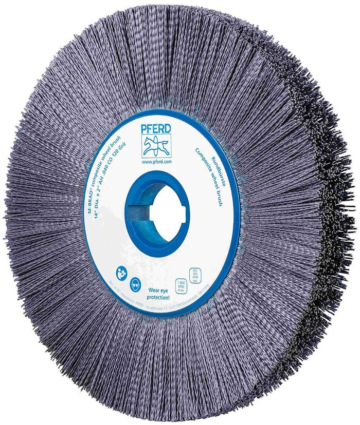 Bohlokoa ba PFERD 68040 M-Brad Wheel Brush