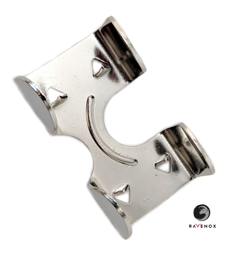3/8-in, 1/2-in & 5/8-in Medium Duty Metal Double Rope Clamps