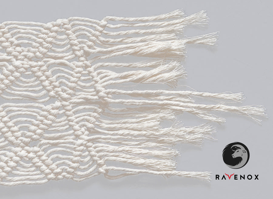 Single Strand Twisted 100% Cotton Macrame Cord