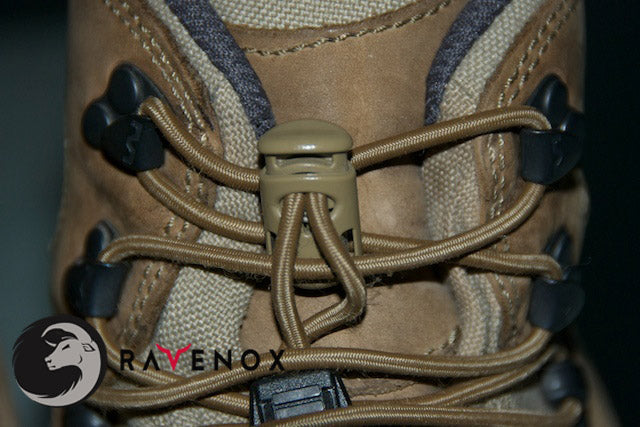 Ravenox Tan Toaster Ellipse Cord Locks for 550 Paracord Projects COVID-19 Face Masks Bungee Cord Shoelace