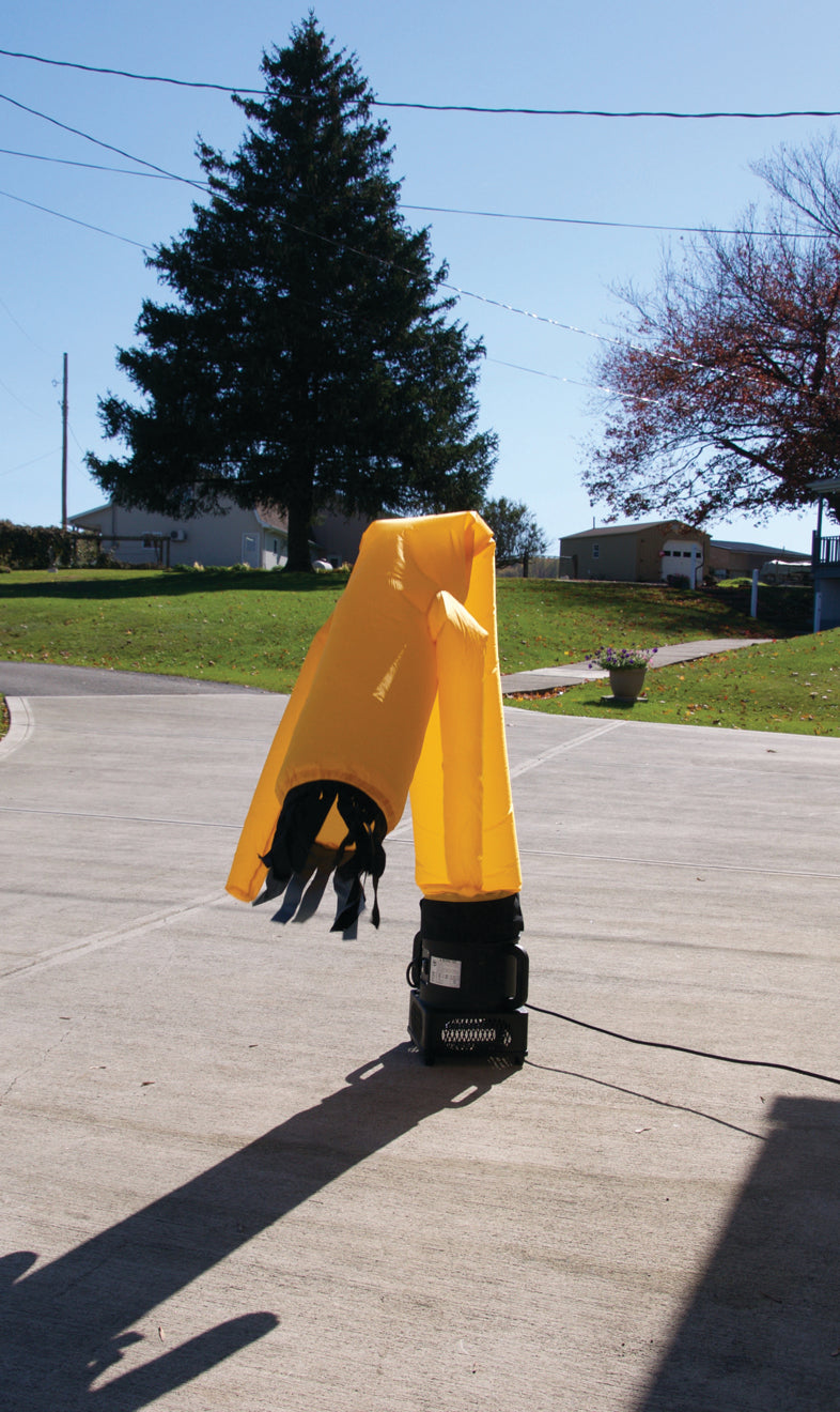 Ravenox Dancing Scarecrow Deterrent for Predatory Birds