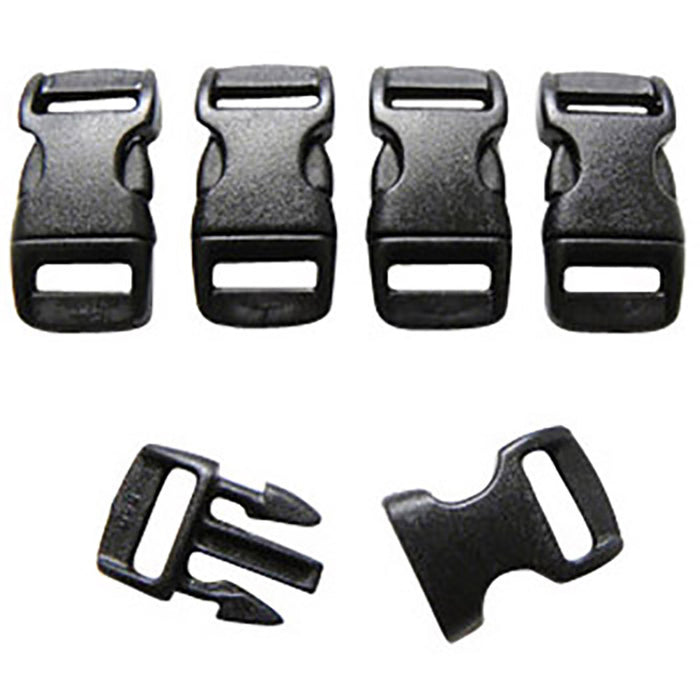 FMS 3/8 Inch Side Release Buckle (Contoured)